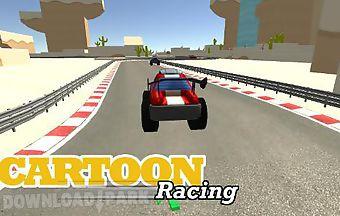 Cartoon racing car games