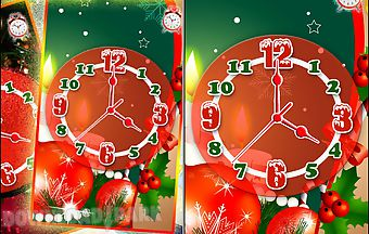 Christmas clock with alarm live ..