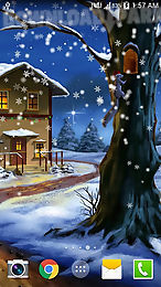 Weihnachtsbilder Animiert.Christmas Night Android Animiert Hintergrundbild Kostenlose