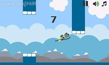 flappy ski jump