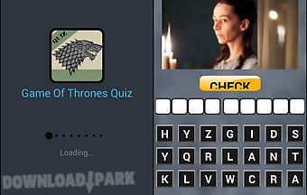Game of thrones fan quiz