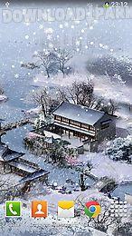 new year: snow