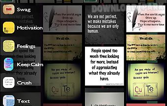 The pin quotes