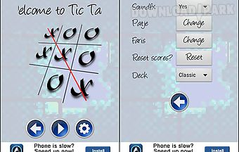 Tic tac toe for 2 players
