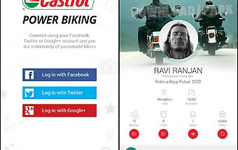Castrol power biking