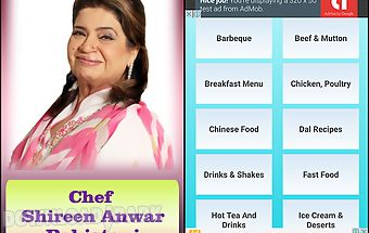 Chef shireen pakistani recipes