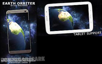 Earth orbiter 3d wallpaper