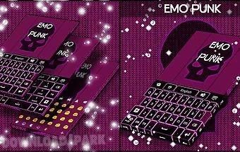 Emo punk keyboard