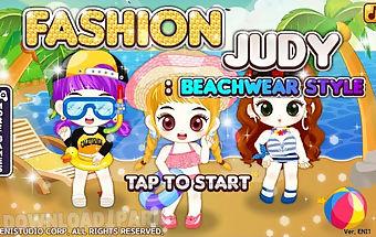 Fashion judy: beachwear style