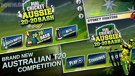 real cricket ™ aussie 20 bash