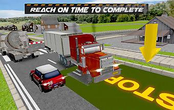 Trucker truck parking