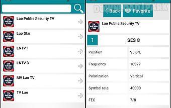 Tv sat info laos