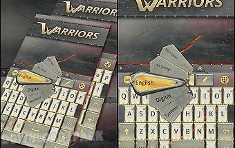 Warriors go keyboard theme