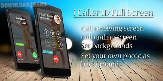 i calling screen caller id