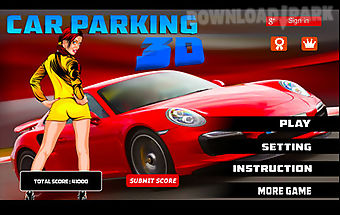 3d car parking game