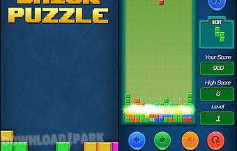 Brick puzzle: fill tetris