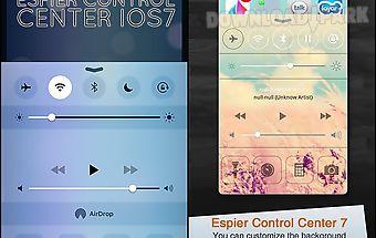 Espier control center ios7