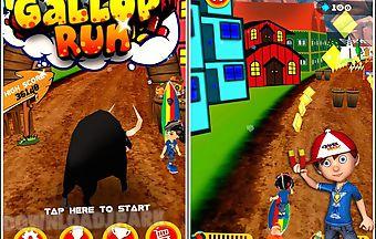 Gallop run-running game