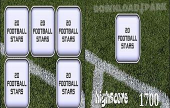 Guess football trivia