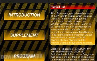 Pump it out