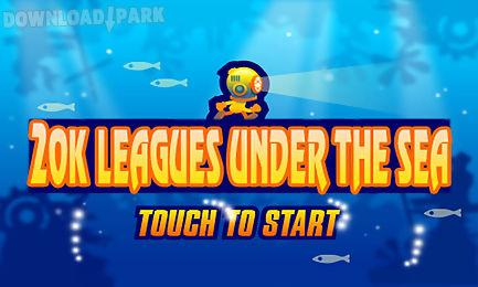 twenty thousand leagues running under the deep sea