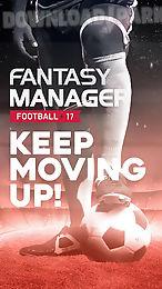 fantasy manager football 2017