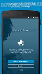 Linkedin pulse Android App free download in Apk