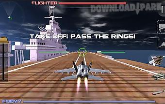 Modern air fighter: combat war