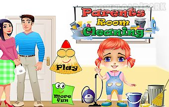 Parents room cleaning games