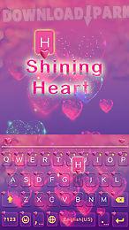 shining heart keyboard theme