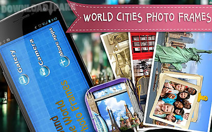 world cities photo frames