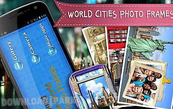World cities photo frames