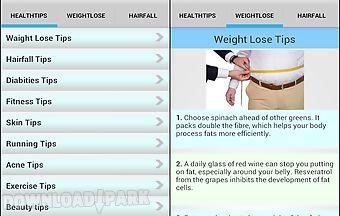 Health tips app