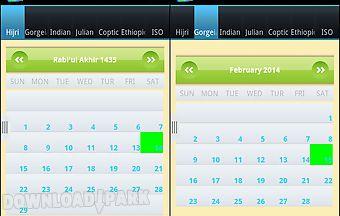 Multi cultures calendar