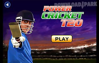 Power crickett20