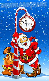 santa clause live wallpapers