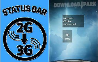 Status bar 2g-3g