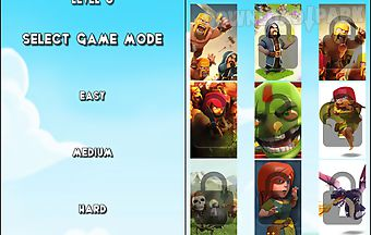 Clash of clans heroes puzzle