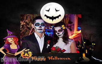 Haunted halloween photo frames