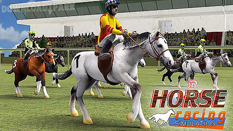 horse racing simulation 3d