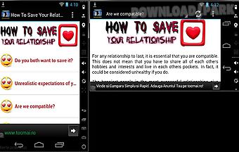 How to save your relationship