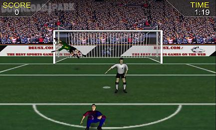 kick soccer