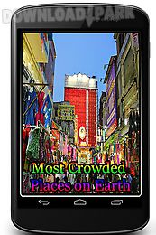 most crowded places on earth