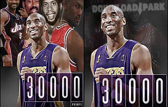 Kobe bryant 30k points live wall..