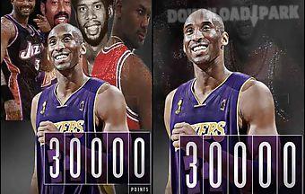 Kobe bryant 30k points live wall..
