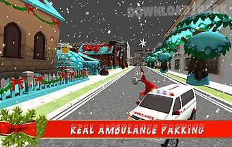 Real ambulance parking mania
