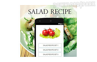 Salad recipes food