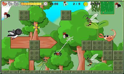 spider adventure game
