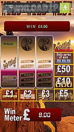 wild wild west fruit machine