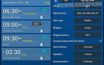 Alarm clock + timers/stopwatch